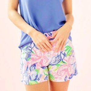Lilly Pulitzer Ariana Stretch Shorts size 10